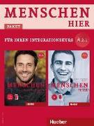Cover-Bild zu Menschen hier A2/1. Paket: Kursbuch mit DVD-ROM und Arbeitsbuch mit Audio-CD von Habersack, Charlotte