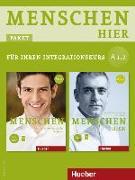 Cover-Bild zu Menschen hier A1/2. Paket: Kursbuch mit DVD-ROM und Arbeitsbuch mit Audio-CD von Evans, Sandra