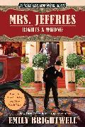 Cover-Bild zu Mrs. Jeffries Rights a Wrong (eBook) von Brightwell, Emily