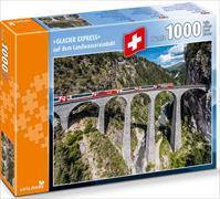 Cover-Bild zu Glacier Express auf Landwasserviadukt
