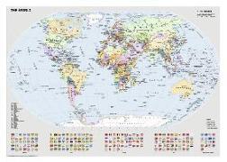 Cover-Bild zu Politische Weltkarte