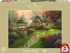 Cover-Bild zu Haus mit Brunnen von Kinkade, Thomas (Illustr.)