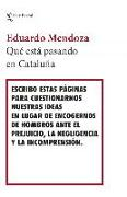 Cover-Bild zu ¿Qué está pasando en Cataluña? von Mendoza, Eduardo