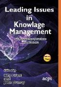 Cover-Bild zu Dumay, John (Hrsg.): Leading Issues in Knowledge Management Volume 2