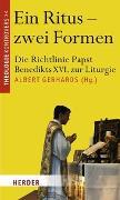 Cover-Bild zu Ein Ritus - zwei Formen von Gerhards, Albert (Beitr.)