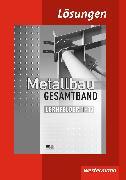 Cover-Bild zu Metallbau Gesamtband. Lösungen von Dahlke, Martin