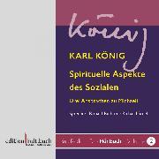 Cover-Bild zu Spirituelle Aspekte des Sozialen - Drei Ansprachen zu Michaeli von Karl König (Audio Download) von König, Karl