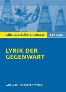 Cover-Bild zu Lyrik der Gegenwart von Blecken, Gudrun