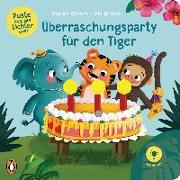Cover-Bild zu Grimm, Sandra: Puste mal die Lichter aus! - Überraschungsparty für den Tiger