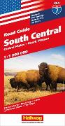 Cover-Bild zu South Central, Central Plains, Ozark Plateau Strassenkarte 1:1 Mio., Road Guide Nr. 7. 1:1'000'000 von Hallwag Kümmerly+Frey AG (Hrsg.)