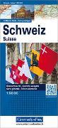 Cover-Bild zu Schweiz Politische Karte. 1:600'000 von Hallwag Kümmerly+Frey AG (Hrsg.)