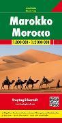 Cover-Bild zu Marokko, Autokarte 1:800.000 - 1:2.000.000. 1:800'000