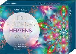 Cover-Bild zu Licht für deinen Herzensraum- Impulse zum Zentrieren und Erinnern von Müller, Grit