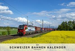 Cover-Bild zu Schweizer Bahnen Kalender 2021