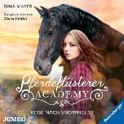 Cover-Bild zu Pferdeflüsterer-Academy. Reise nach Snowfields (Audio Download) von Mayer, Gina