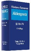 Cover-Bild zu Bd. 3: Münchener Kommentar zum Aktiengesetz Bd. 3: §§ 118-178 - Münchener Kommentar zum Aktiengesetz von Goette, Wulf (Hrsg.)