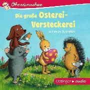Cover-Bild zu Ohrwürmchen. Die große Osterei-Versteckerei und andere Geschichten (Audio Download) von Lütje, Susanne