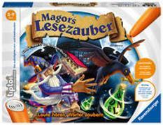 Cover-Bild zu Haferkamp, Kai: Ravensburger tiptoi Spiel 00511 Magors Lesezauber - Lernspiel ab 5 Jahren, Laute - Buchstaben - Wörter: in drei Schwierigkeitsstufen