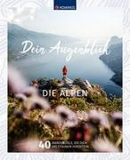 Cover-Bild zu Wanderbildband Dein Augenblick Alpen