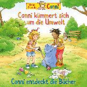 Cover-Bild zu eBook Conni kümmert sich um die Umwelt / Conni entdeckt die Bücher
