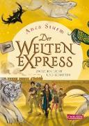 Cover-Bild zu Sturm, Anca: Zwischen Licht und Schatten (Der Welten-Express 2) (eBook)