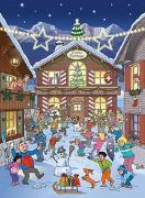Cover-Bild zu Meier, Rolf (Illustr.): Adventskalender Papa Moll