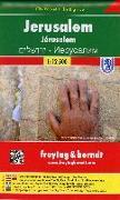 Cover-Bild zu Jerusalem, Stadtplan 1:12.500, City Pocket + The Big Five. 1:12'500
