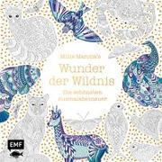 Cover-Bild zu Millie Marotta's Wunder der Wildnis - Die schönsten Ausmalabenteuer