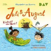 Cover-Bild zu Juli und August - Krokodil über Bord!
