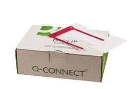 Cover-Bild zu Q-CONNECT® Registratursystem D-Clip, Schenkellänge 11,5 cm rot