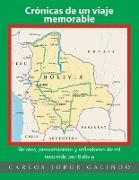 Cover-Bild zu Crónicas de un viaje memorable