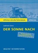 Cover-Bild zu Der Sonne nach von Gabriele Clima. Königs Erläuterungen Spezial (eBook) von Clima, Gabriele