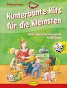 Cover-Bild zu Kunterbunte Hits für die Kleinsten von Hering, Wolfgang