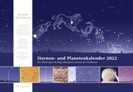 Cover-Bild zu Sternen- und Planetenkalender 2022