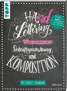 Cover-Bild zu Blum, Ludmila: Handlettering Workshop Schriftgestaltung und Komposition. Mit Layout-Schablone