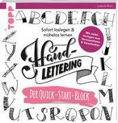 Cover-Bild zu Blum, Ludmila: Handlettering. Der Quick-Start-Block