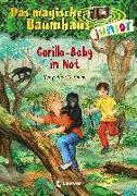 Cover-Bild zu Pope Osborne, Mary: Das magische Baumhaus junior 24 - Gorilla-Baby in Not
