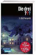 Cover-Bild zu Erlhoff, Kari: Die drei ???: Schattenwelt (Dreifachband. Enthält die Bände: Teuflisches Duell, Angriff in der Nacht, Die dunkle Macht)
