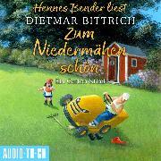 Cover-Bild zu Bittrich, Dietmar: Zum Niedermähen schön - Ein Garten-Krimi (Ungekürzt) (Audio Download)