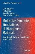 Cover-Bild zu Massobrio, Carlo (Hrsg.): Molecular Dynamics Simulations of Disordered Materials