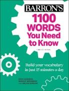 Cover-Bild zu Carriero, Rich: 1100 Words You Need to Know (eBook)