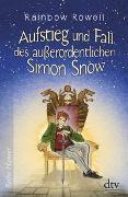 Cover-Bild zu Rowell, Rainbow: Aufstieg und Fall des außerordentlichen Simon Snow, Roman