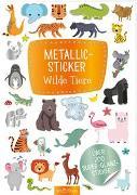 Cover-Bild zu Metallic-Sticker Wilde Tiere