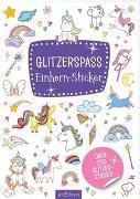 Cover-Bild zu Glitzerspaß - Einhorn-Sticker