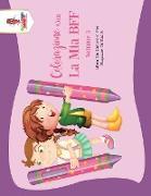 Cover-Bild zu Colorazione Con La Mia BFF - Volume 3 von Coloring Bandit