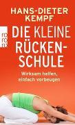 Cover-Bild zu Die kleine Rückenschule von Kempf, Hans-Dieter