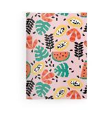 Cover-Bild zu teNeues Calendars & Stationery GmbH & Co. KG: Happy Fruits 14,8x21 cm - GreenLine Booklet - 48 Seiten, Punktraster und blanko - Softcover - gebunden