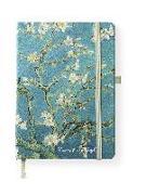 Cover-Bild zu van Gogh, Vincent: van Gogh 16x22 cm - Blankbook - 192 blanko Seiten - Hardcover - gebunden
