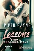 Cover-Bild zu Lessons from a One-Night-Stand von Rayne, Piper