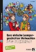 Cover-Bild zu Ganz einfache Lesespurgeschichten: Weihnachten von Rosendahl, Julia